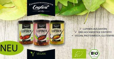 Lupine als Fleischersatz – Eintöpfe von Feinkost Englert - Foto: Feinkost Englert