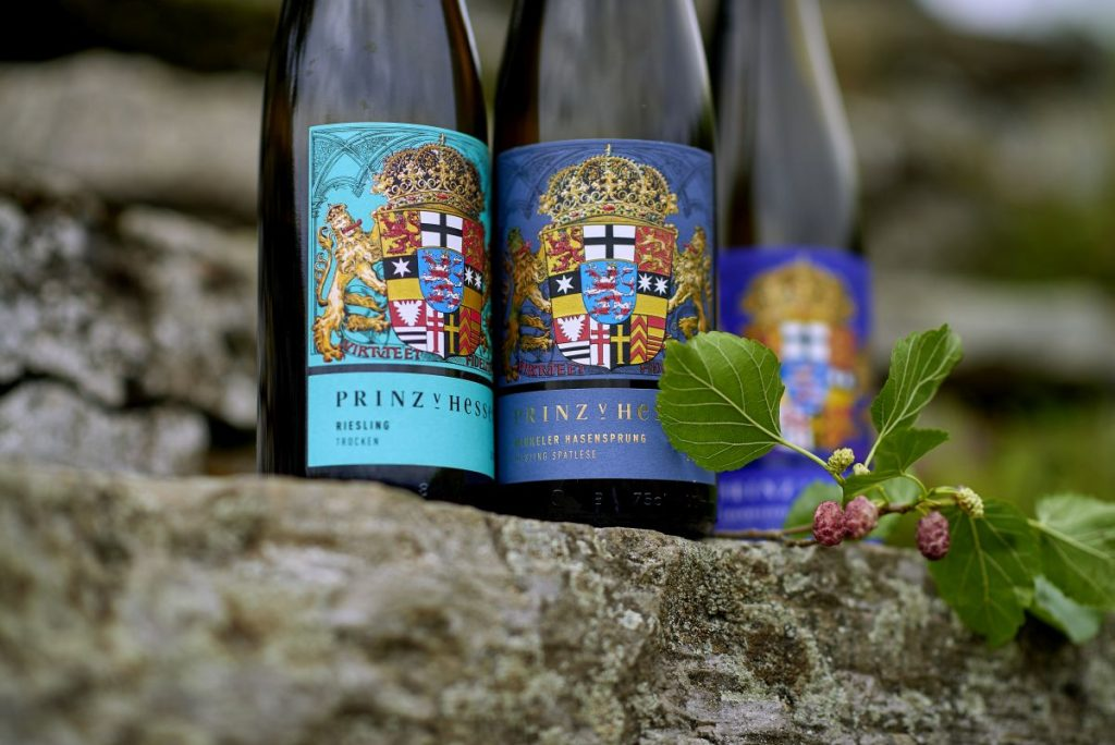 Prämierte Weine Weingut Prinz von Hessen - Foto: Weingut Prinz von Hessen