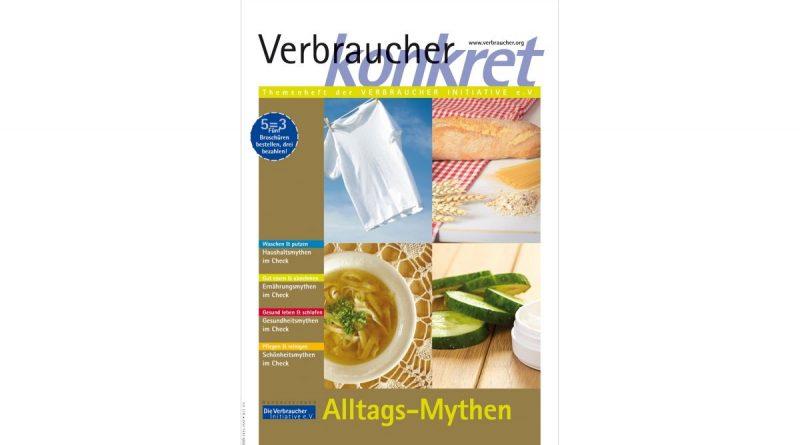 Alltags-Mythen - Foto: Die Verbraucher Initiative e.V.