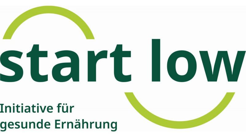 Neues Projekt Salz- und Zucker Reduktion – Start Low - Logo: Start Low