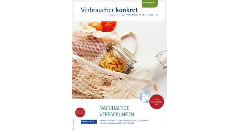Nachhaltige Verpackungen nutzen – Tipps der Verbraucher Initiative