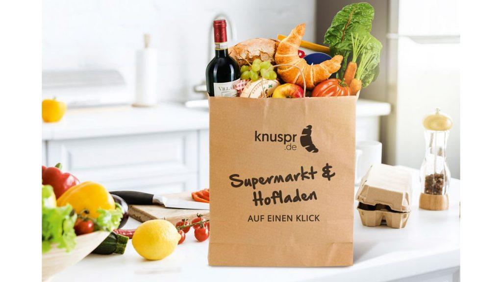 Knuspr - Neuer Online-Supermarkt mit regionalen Produkten startet im Sommer