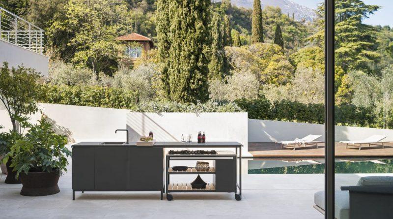 Norma - Wie im Süden in der eigenen Outdoorküche kochen! Die neue Außenküche von Roda - Foto: Roda