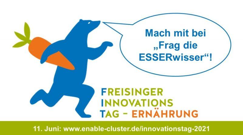 Online-Innovationstag Ernährung – Aktion Frag die ESSERwisser