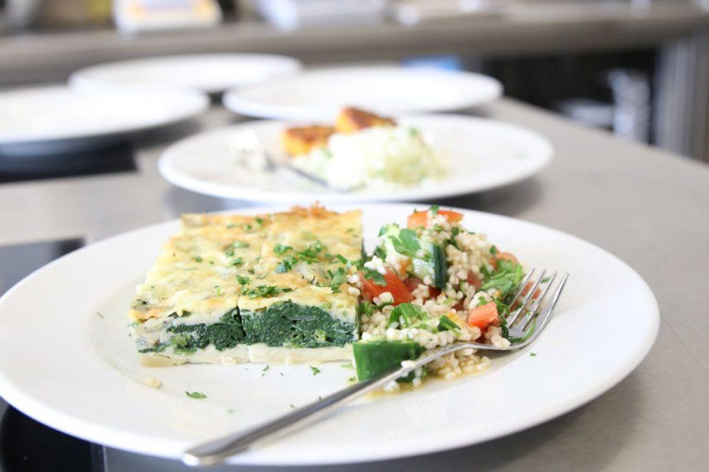 Um nachhaltige Gastronomie dreht sich die Masterarbeit von Caroline Barth. (Foto: FH Münster/Dzemila Muratovic)