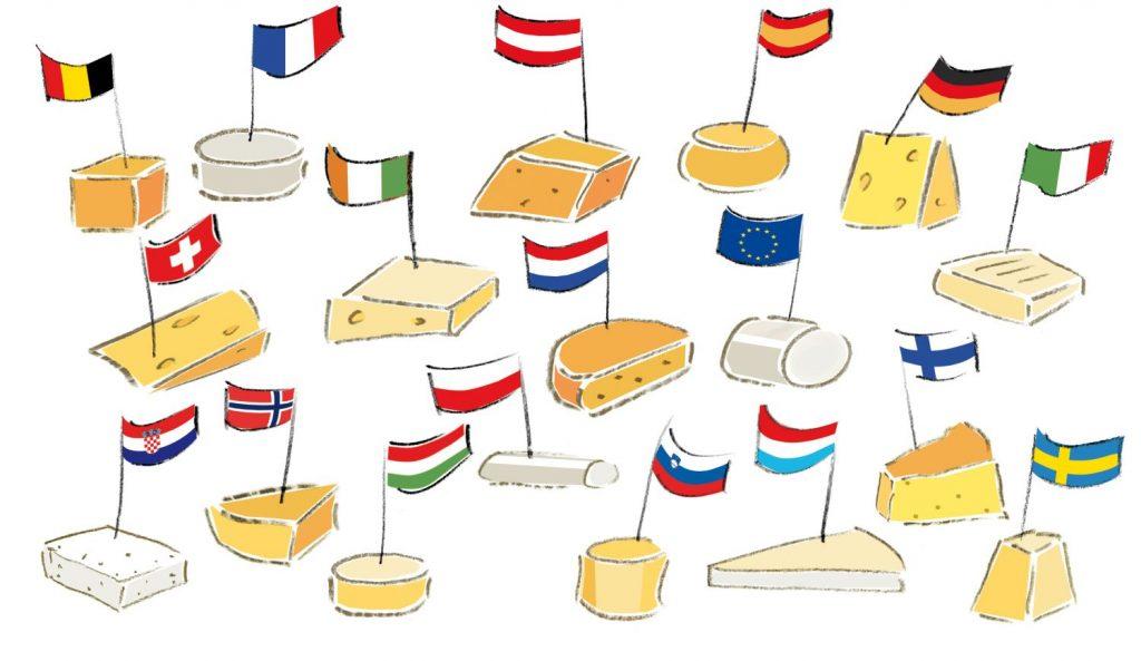 Facenetwork - Vereinte Webseite der europäischen Hofkäsereien und Milchproduzenten ist online!