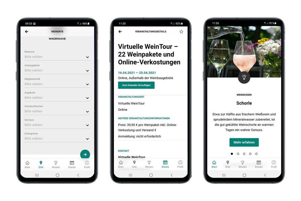 Die Deutsche Weine App - Foto DWI