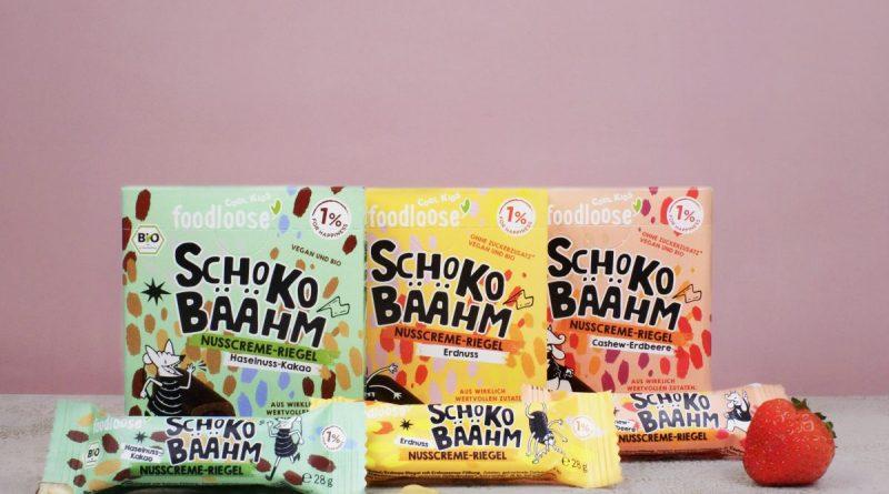 Der neue Kindersnack von Foodloose- Schoko-Bääng - Foto: Foodloose