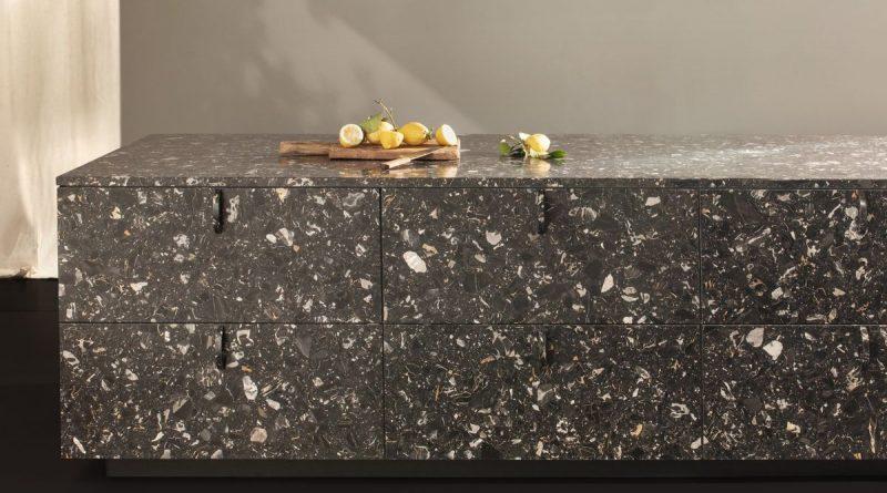 Neue Materialien füp Poggenpohl Küchen - Beispiel Terrazzo - Foto: Poggenpohl