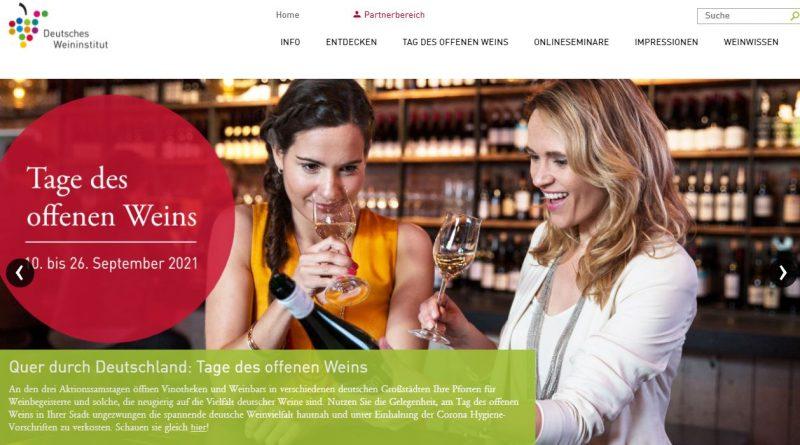 DWI Tag des deutschen Weins- Screenshot Tutti i sensi