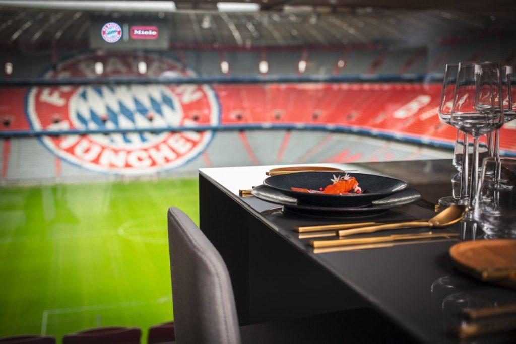 Miele Lounge beim FC Bayern - Foto: Miele