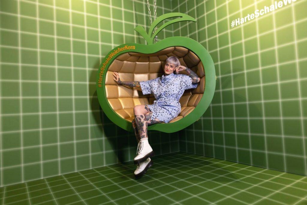 """Neuer Insta-Spot in Hamburg – Der Jack """"Apfel"""" #HarteSchaleWeicherKern"""